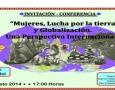 """INVITACIÓN – CONFERENCIA """"Mujeres, Lucha por la tierra y Globalización. Una Perspectiva Internacional"""" IMPARTIDA POR: Silvia Federici 21 Agosto 2014/17:00 Horas Lugar: Cideci-Unitierra Chiapas Camino Viejo a San Juan Chamula […]"""