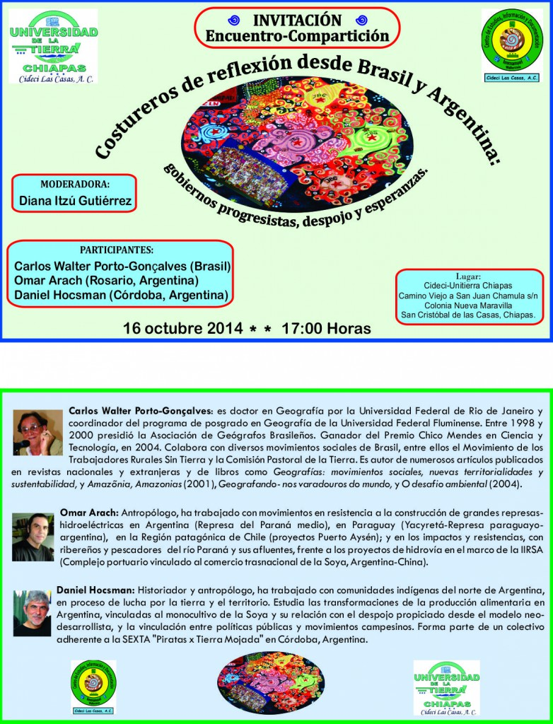 Invitación 16-oct-2014