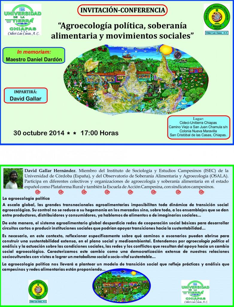 invitación 30-10-2014