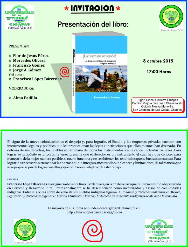 Invitación 8-10-2015
